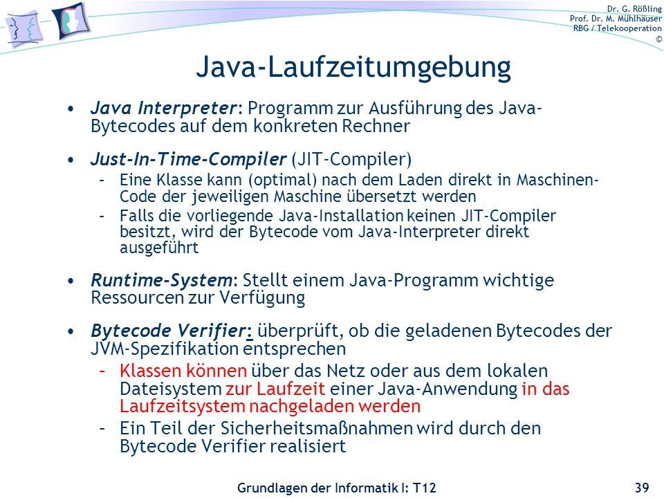 Java-Laufzeitumgebung