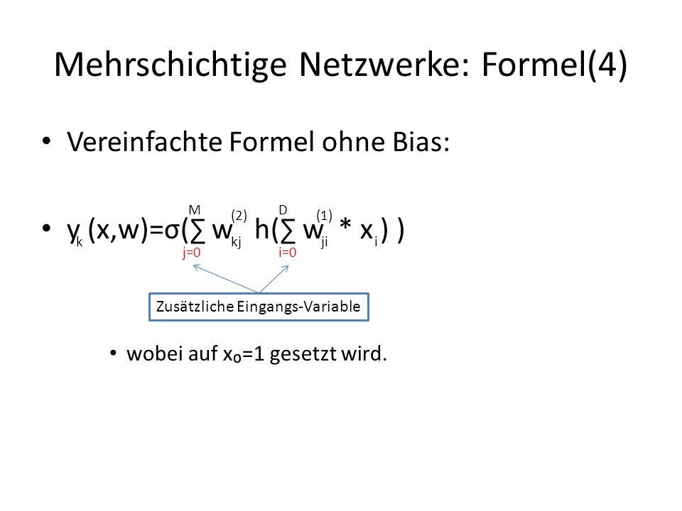 Mehrschichtige Netzwerke: Formel(4)