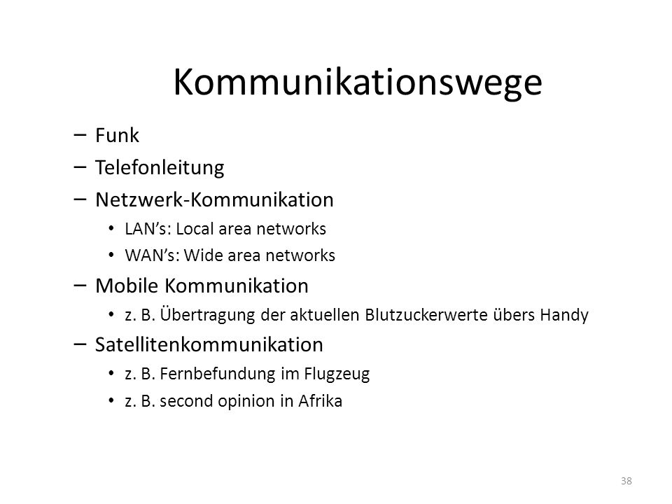 Kommunikationswege Funk Telefonleitung Netzwerk-Kommunikation
