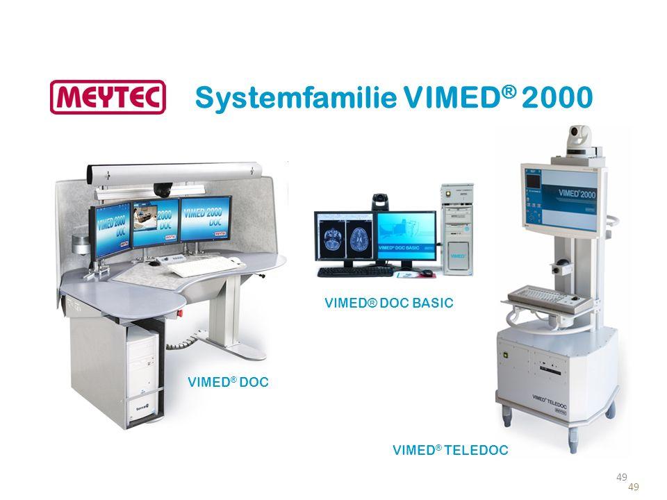 Systemfamilie VIMED® 2000 VIMED® DOC BASIC VIMED® DOC VIMED® TELEDOC
