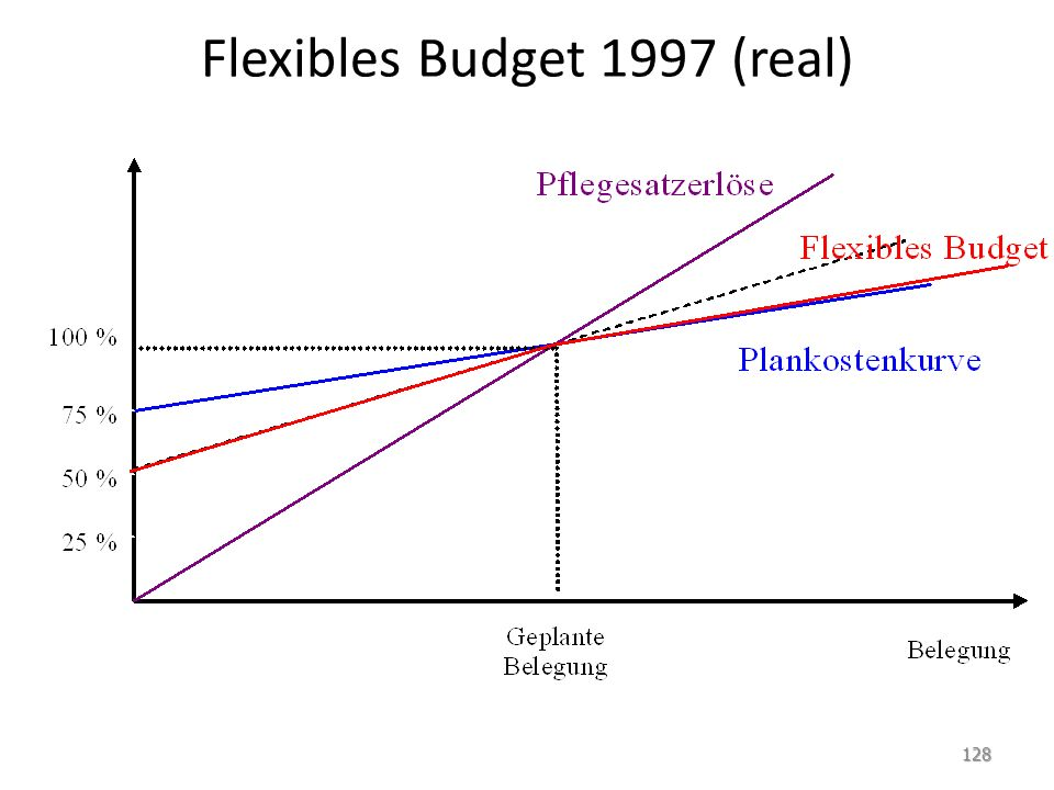 Flexibles Budget 1997 (real)