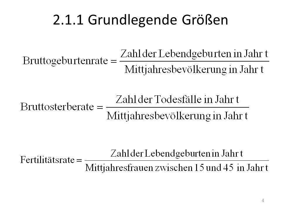 2.1.1 Grundlegende Größen