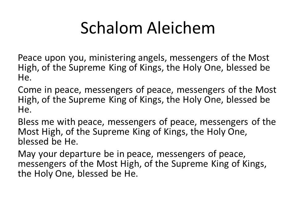 Schalom Aleichem