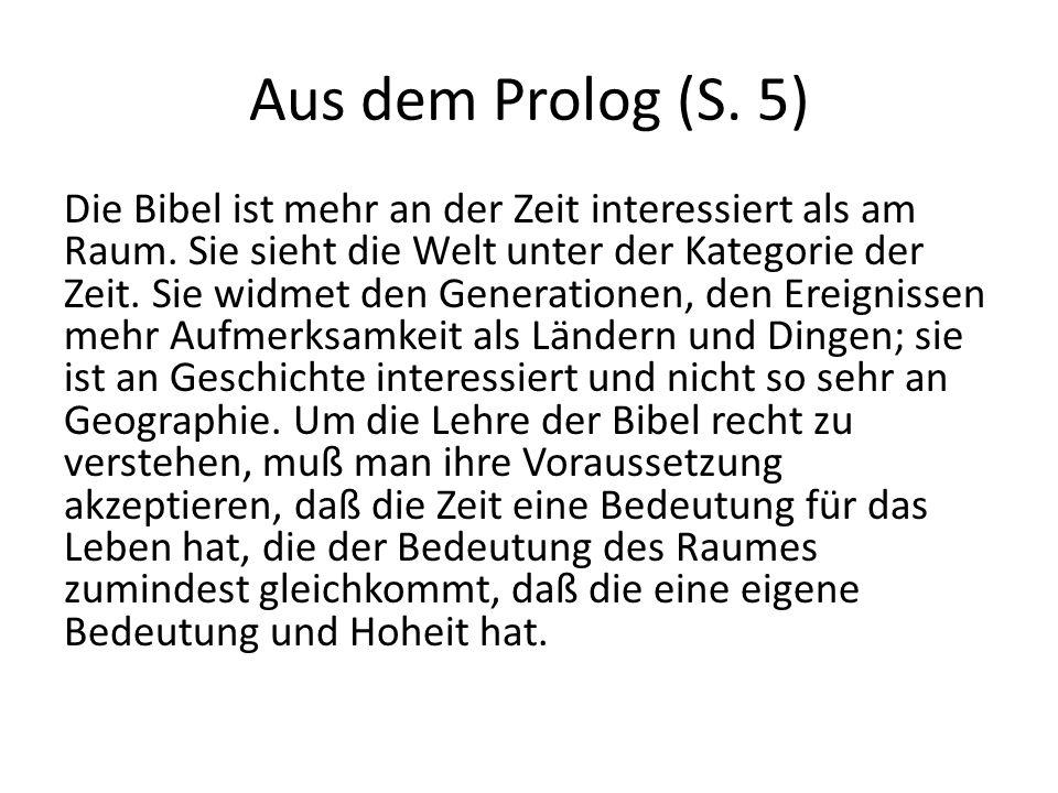 Aus dem Prolog (S. 5)