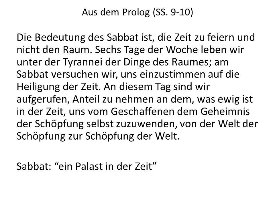 Aus dem Prolog (SS. 9-10)