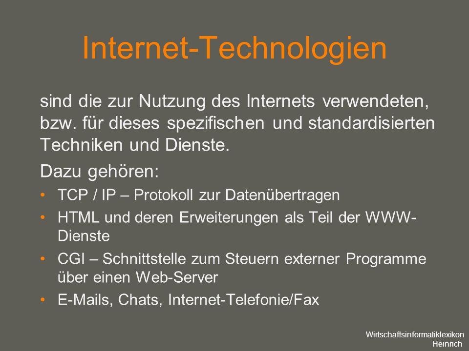 Internet-Technologien