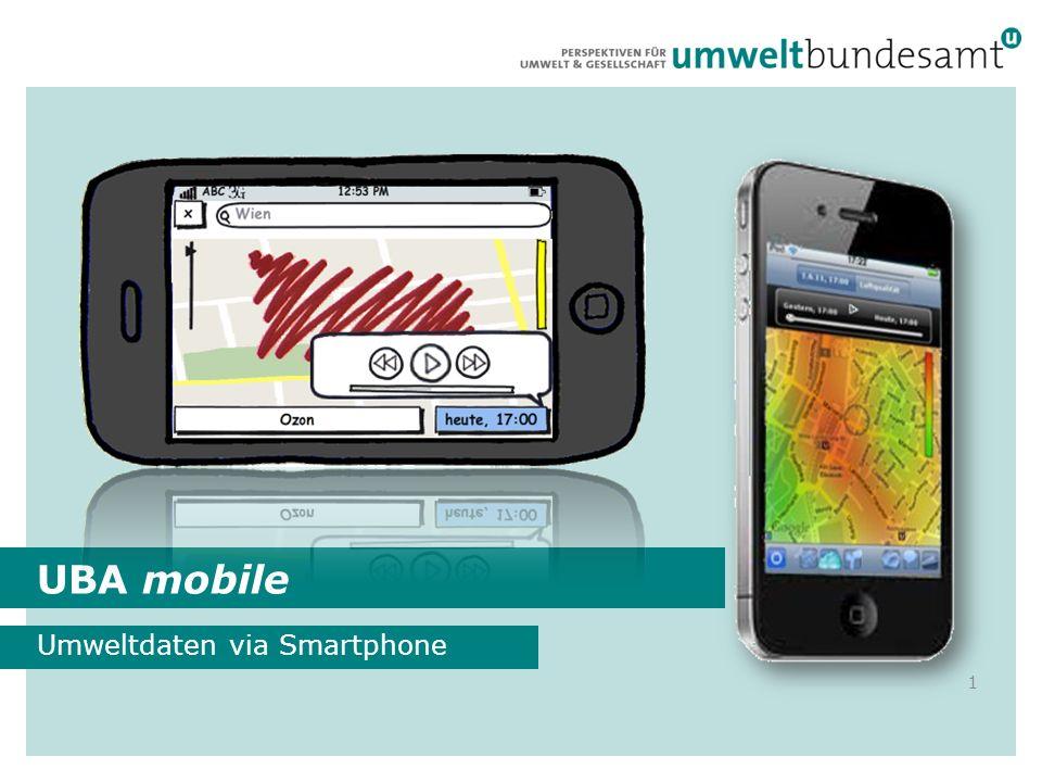 Umweltdaten via Smartphone