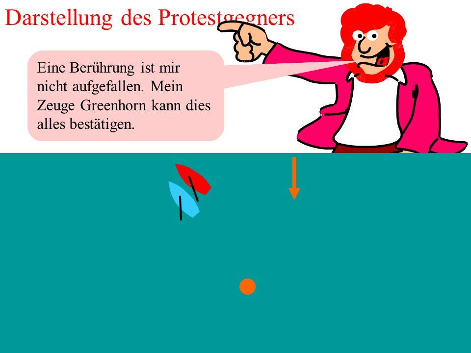 Darstellung des Protestgegners