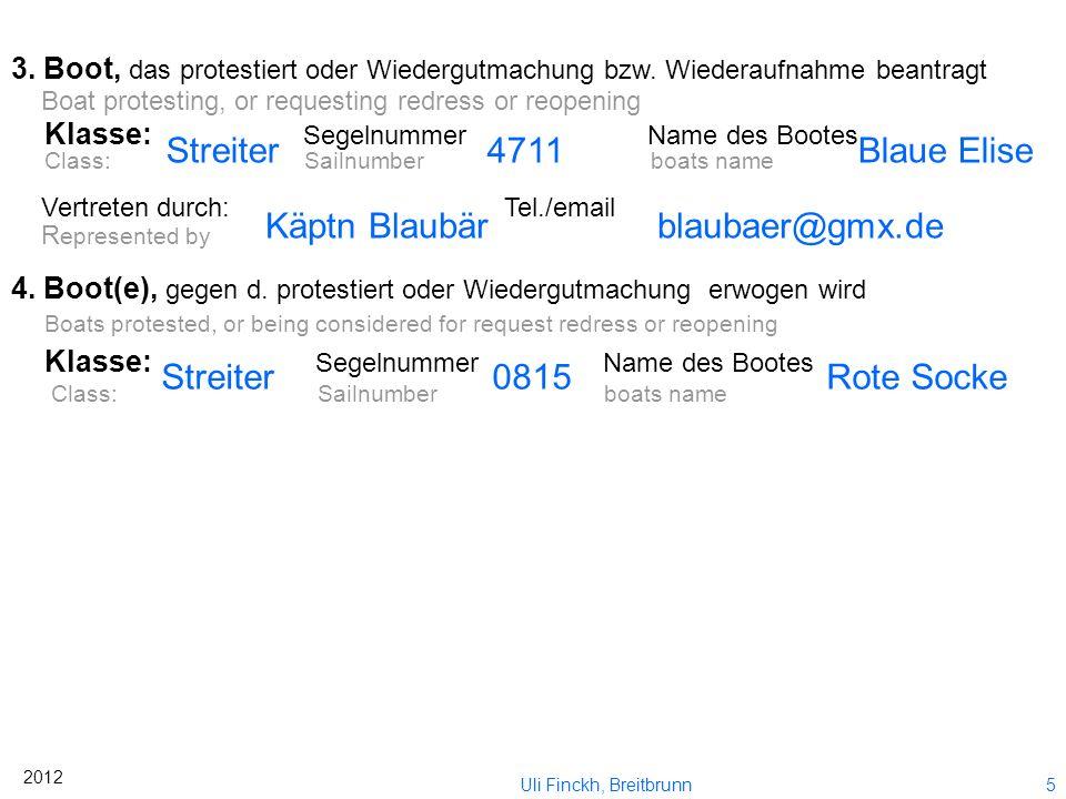 Käptn Blaubär blaubaer@gmx.de