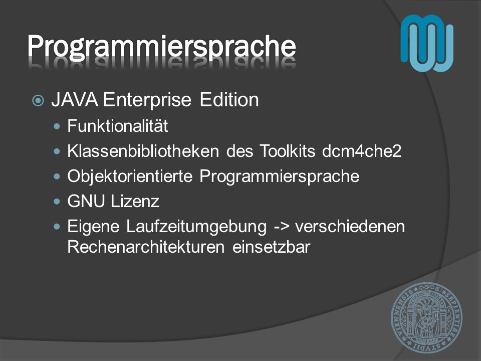 Programmiersprache JAVA Enterprise Edition Funktionalität