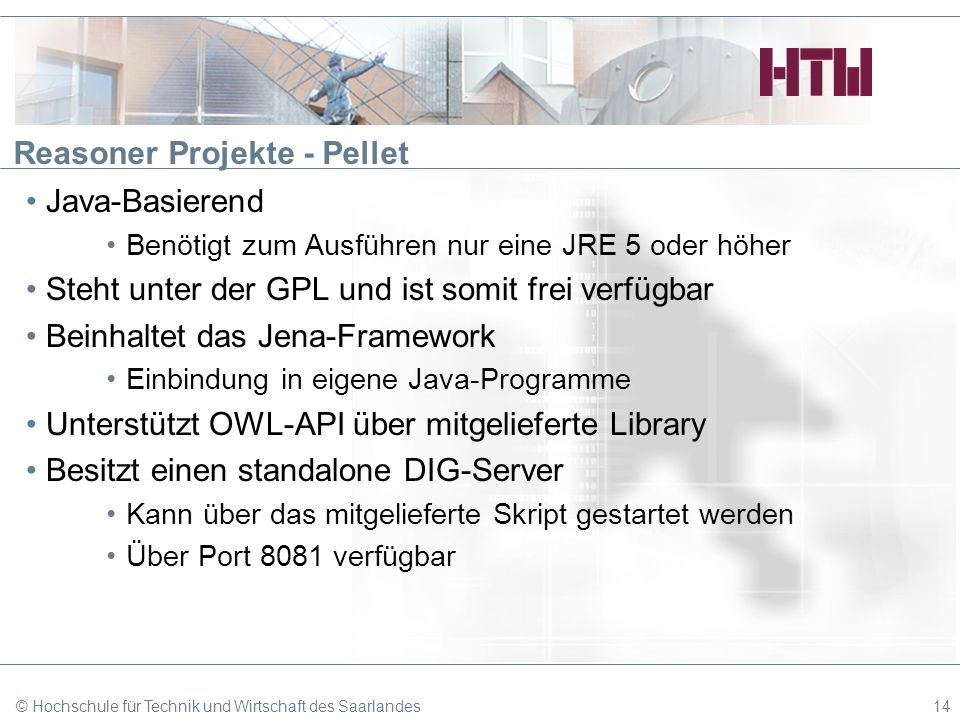 Reasoner Projekte - Pellet