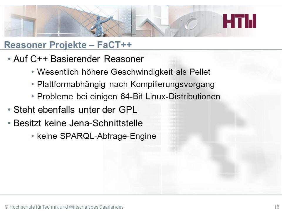 Reasoner Projekte – FaCT++