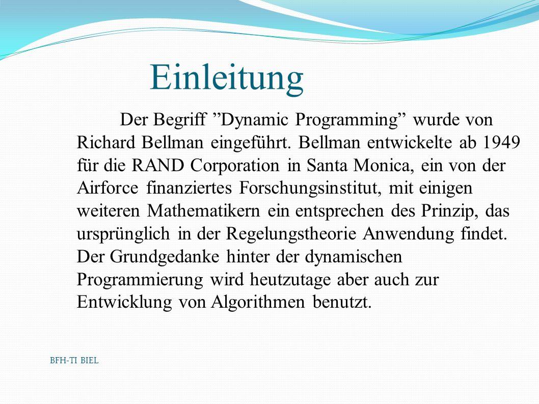 BFH-TI BIEL Einleitung.