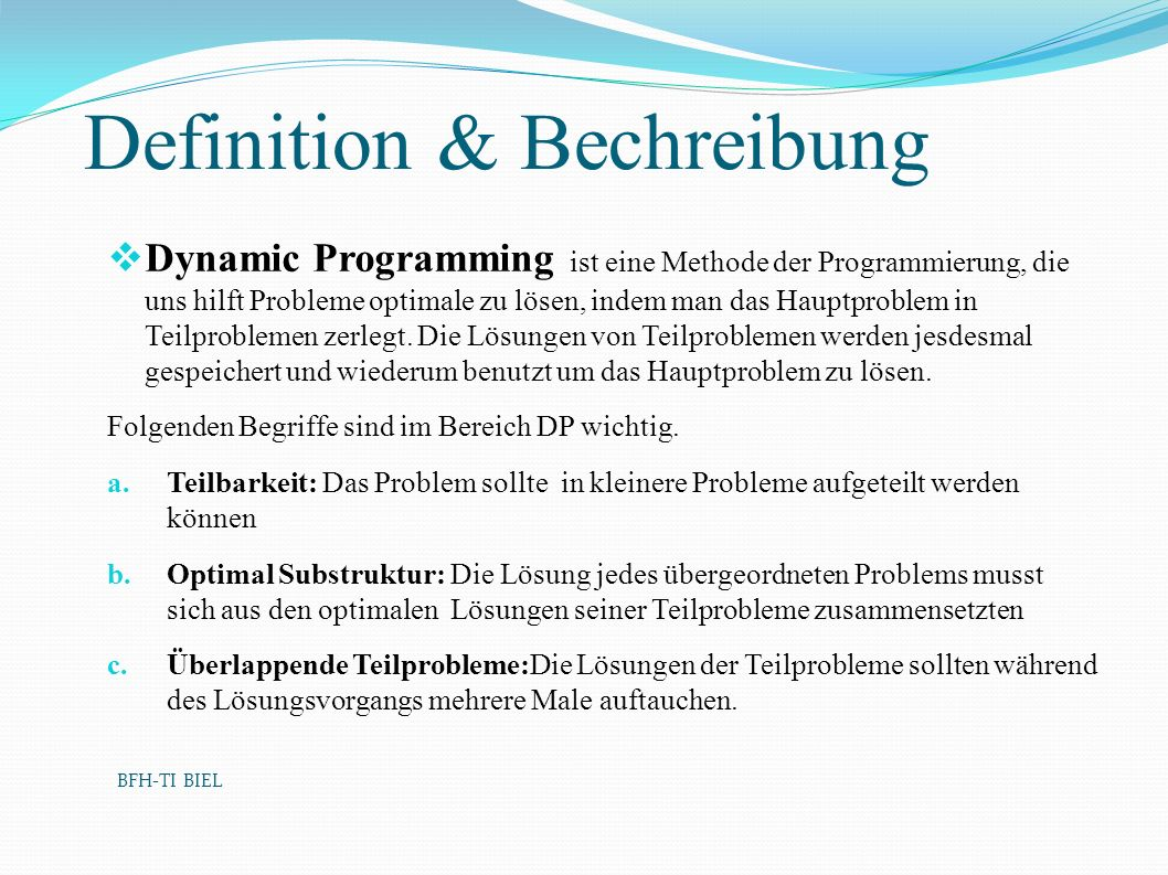 Definition & Bechreibung