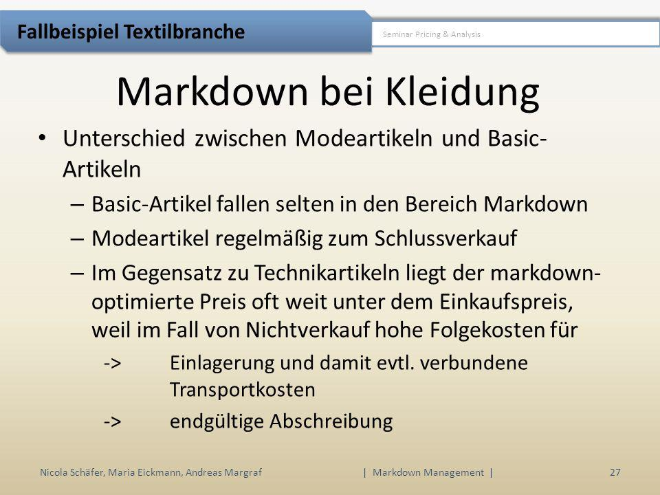 | Markdown Management |