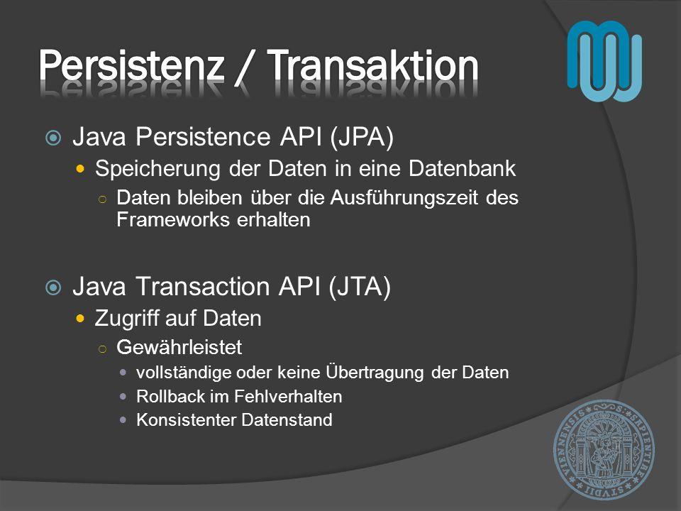 Persistenz / Transaktion
