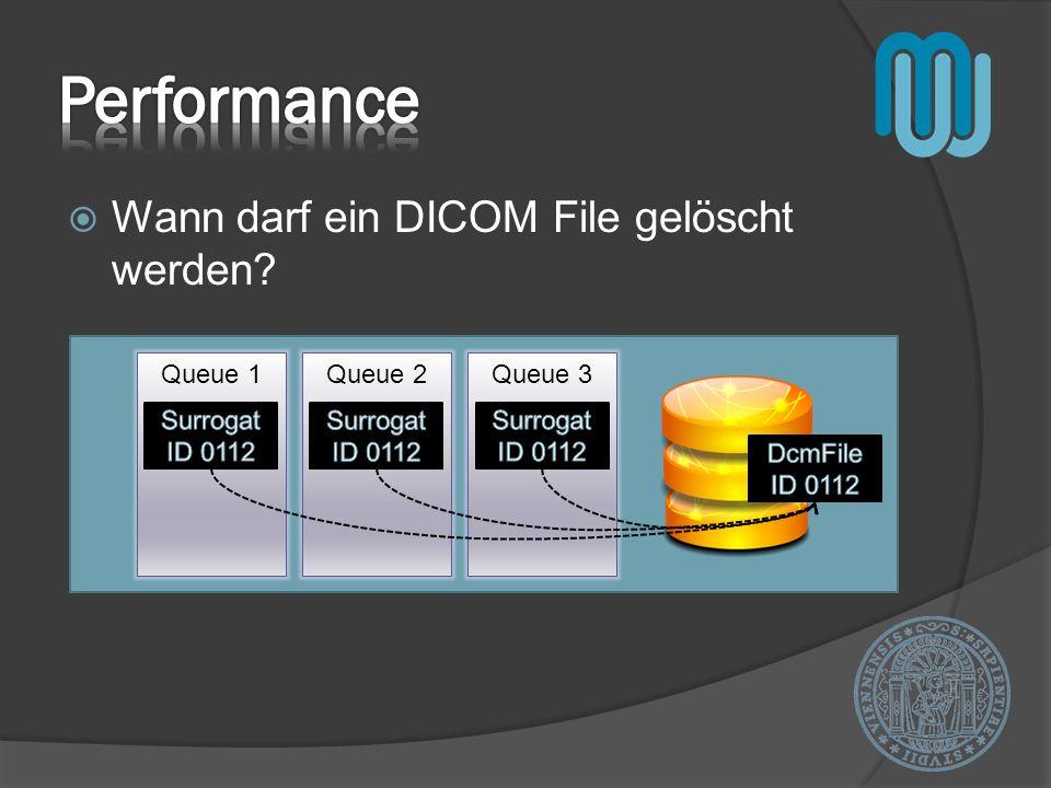 Performance Wann darf ein DICOM File gelöscht werden DcmFile ID 0112