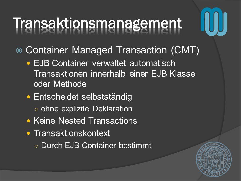 Transaktionsmanagement