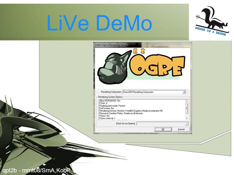 LiVe DeMo qpt2b - mmt08/SrnA,KobP