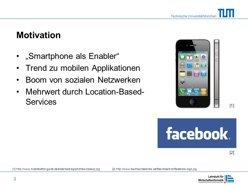"Motivation ""Smartphone als Enabler Trend zu mobilen Applikationen"