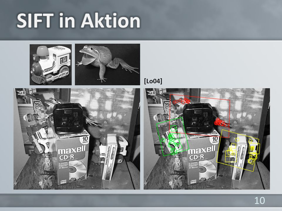SIFT in Aktion [Lo04]