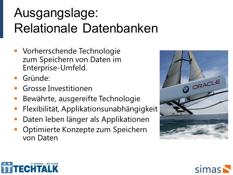 Ausgangslage: Relationale Datenbanken