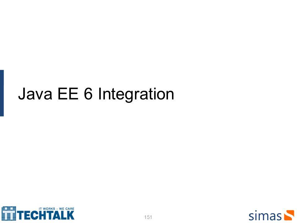 Java EE 6 Integration