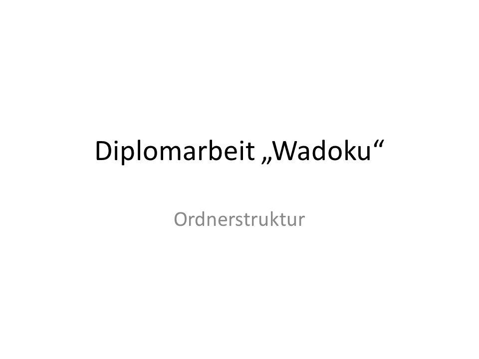 "Diplomarbeit ""Wadoku"