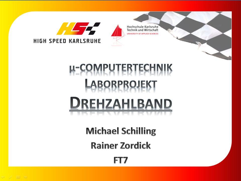 µ-computertechnik Laborprojekt Drehzahlband