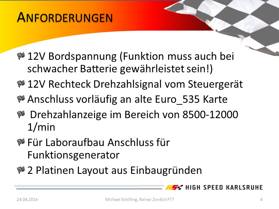 Michael Schilling, Rainer Zordick FT7