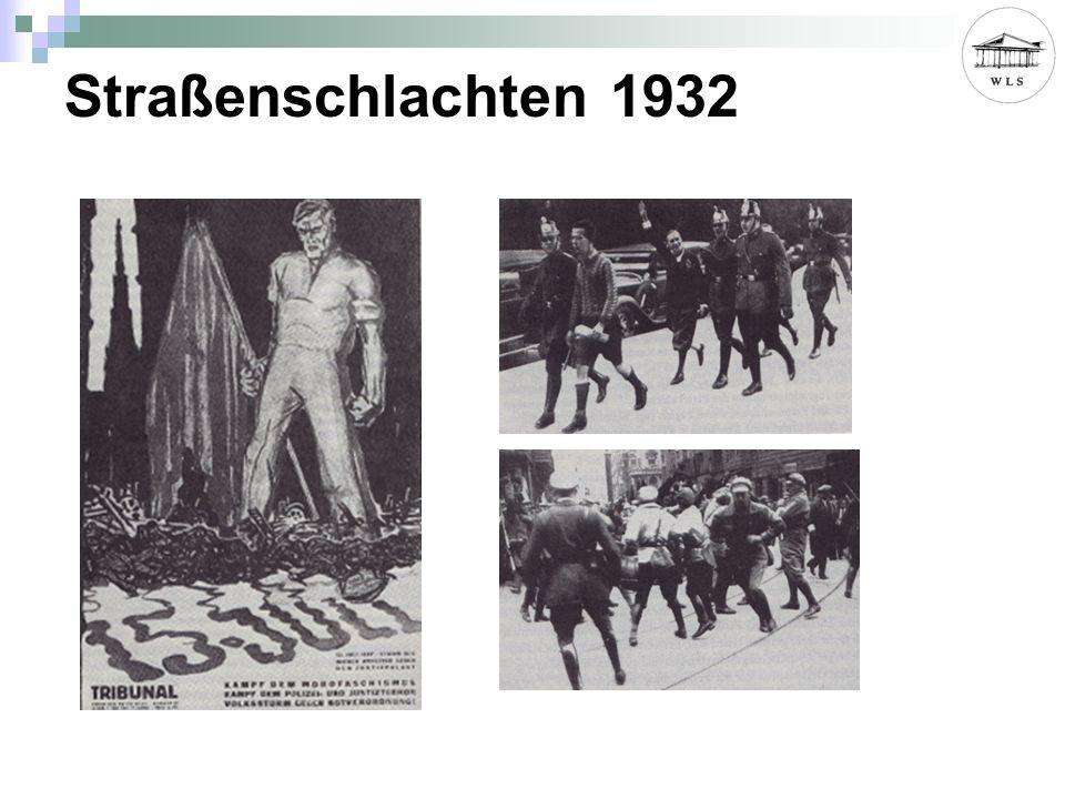 Straßenschlachten 1932