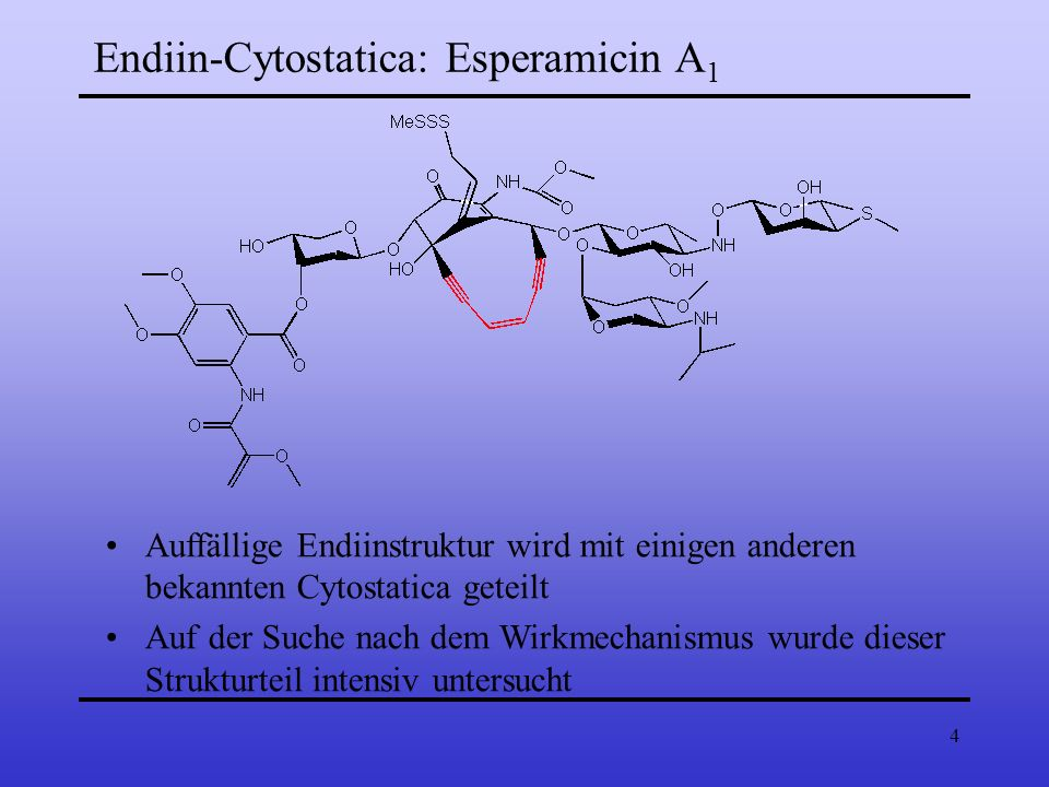 Endiin-Cytostatica: Esperamicin A1