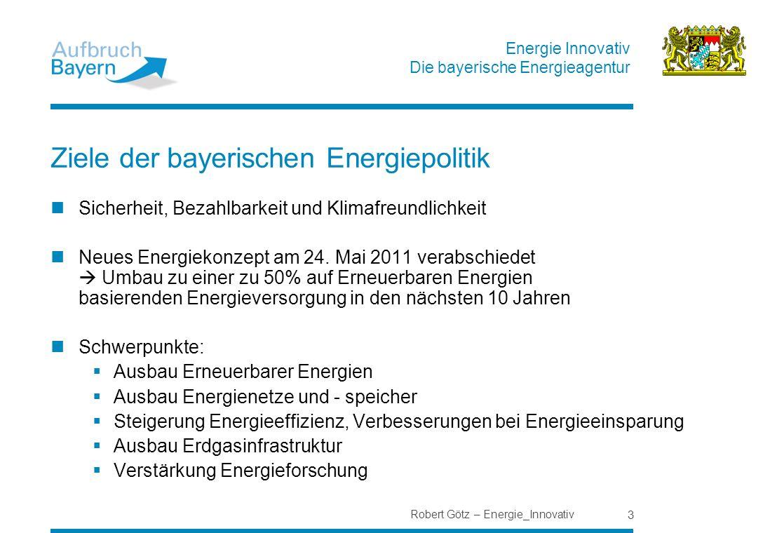 Ziele der bayerischen Energiepolitik
