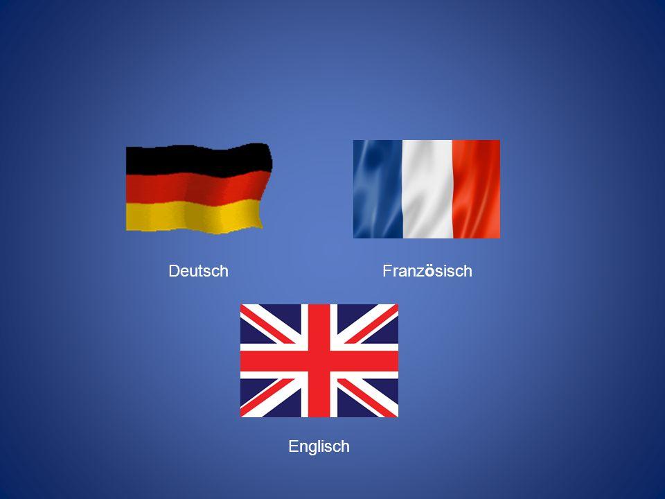 Deutsch Französisch Englisch
