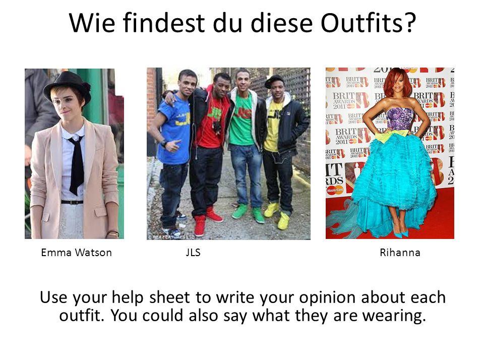 Wie findest du diese Outfits
