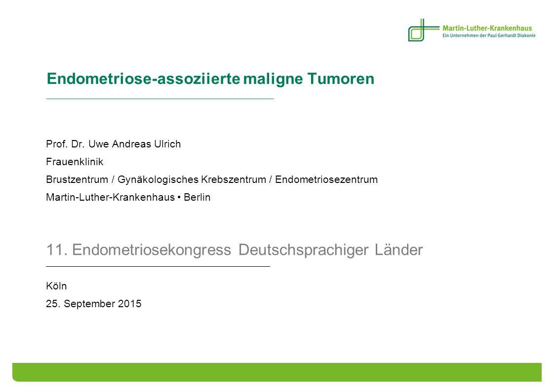Endometriose-assoziierte maligne Tumoren