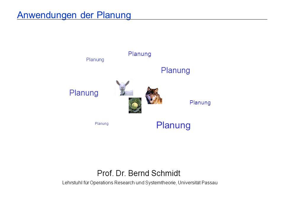 Anwendungen der Planung