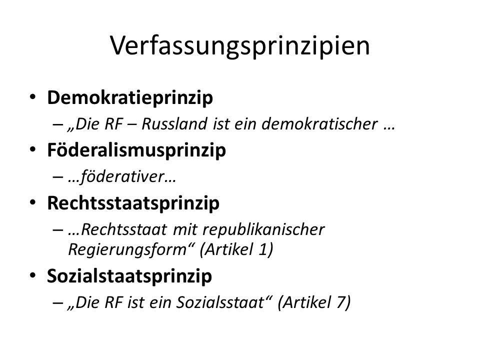 Verfassungsprinzipien