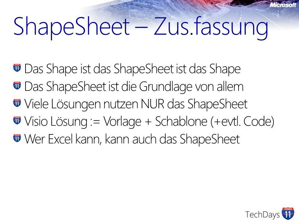 ShapeSheet – Zus.fassung