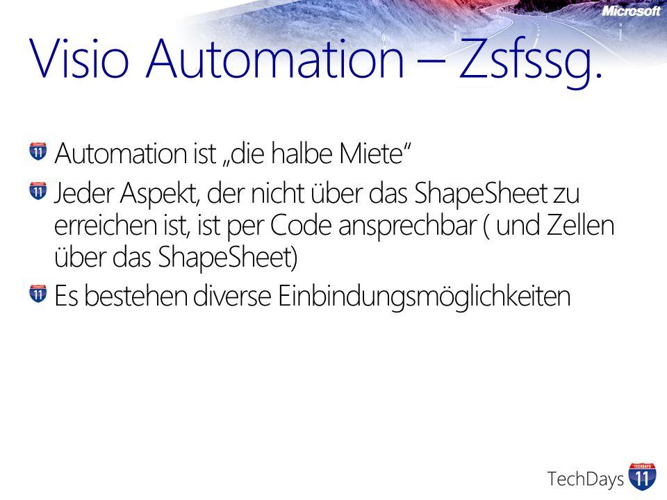 Visio Automation – Zsfssg.