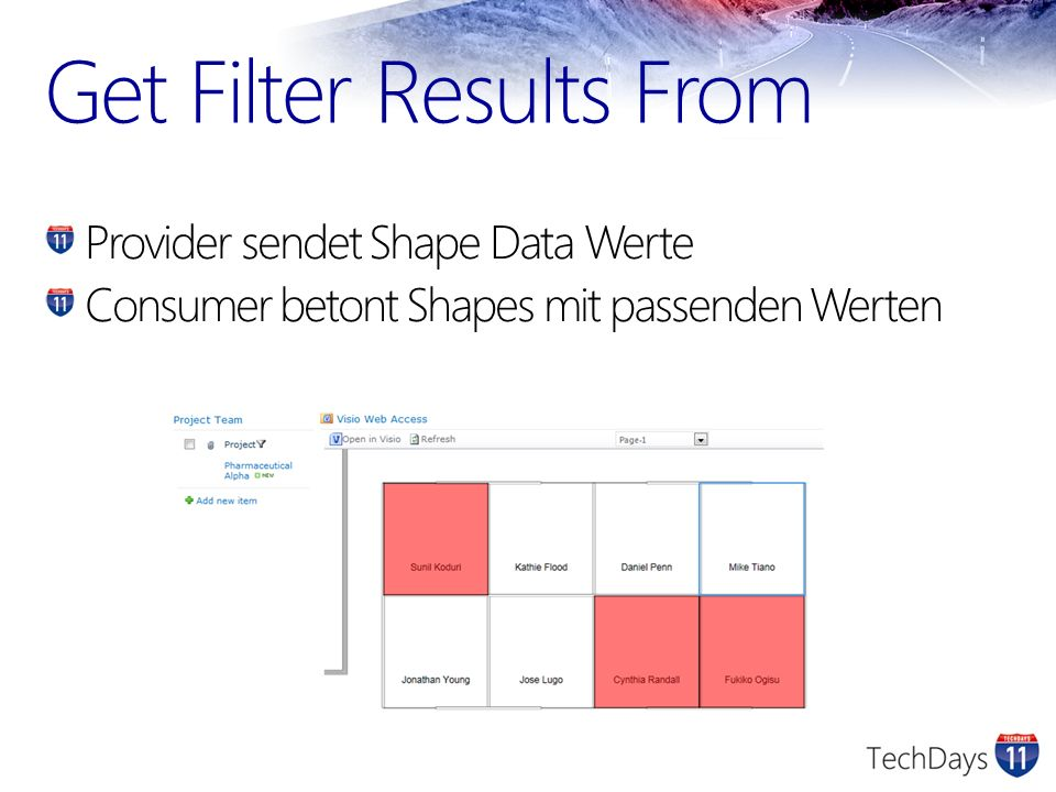 Get Filter Results From