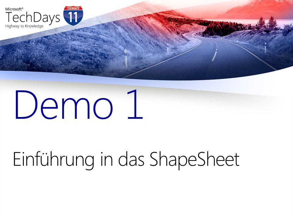Einführung in das ShapeSheet