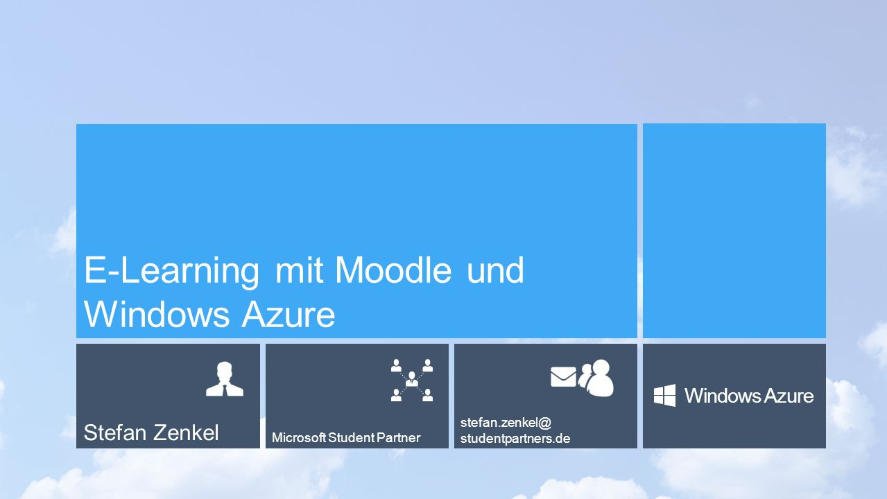 E-Learning mit Moodle und Windows Azure
