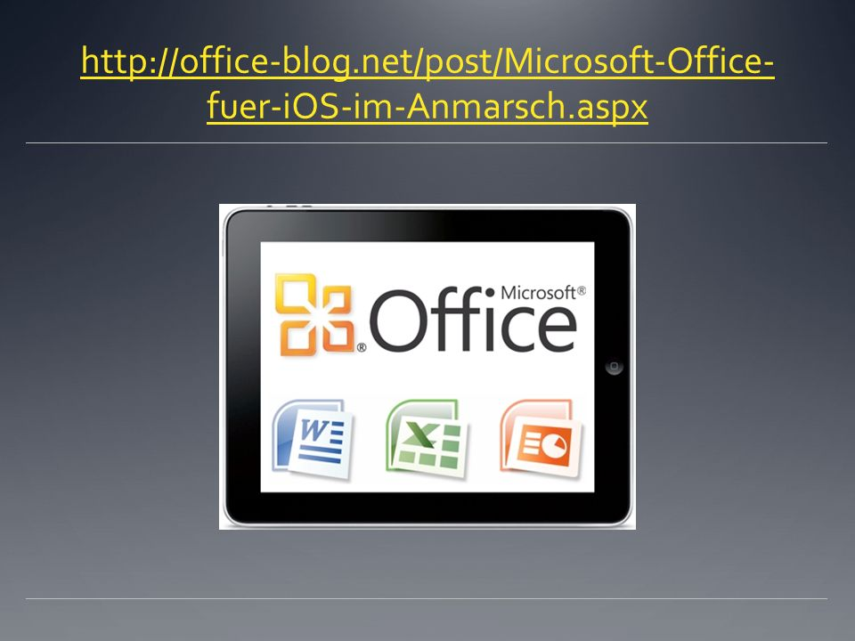 net/post/Microsoft-Office-fuer-iOS-im-Anmarsch