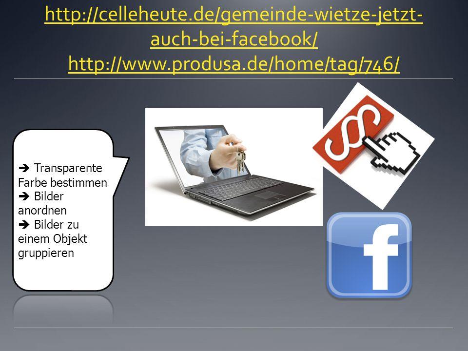 http://celleheute.de/gemeinde-wietze-jetzt-auch-bei-facebook/ http://www.produsa.de/home/tag/746/