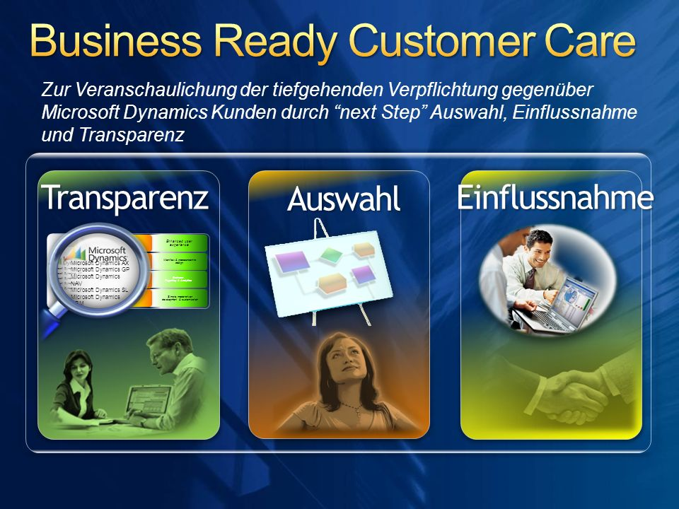 Business Ready Customer Care