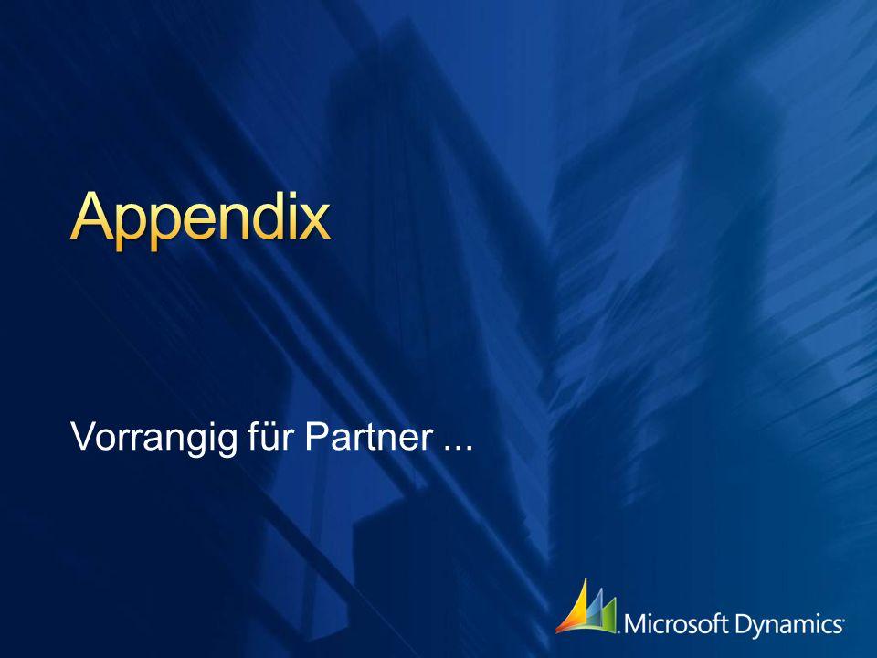 Appendix Vorrangig für Partner ...