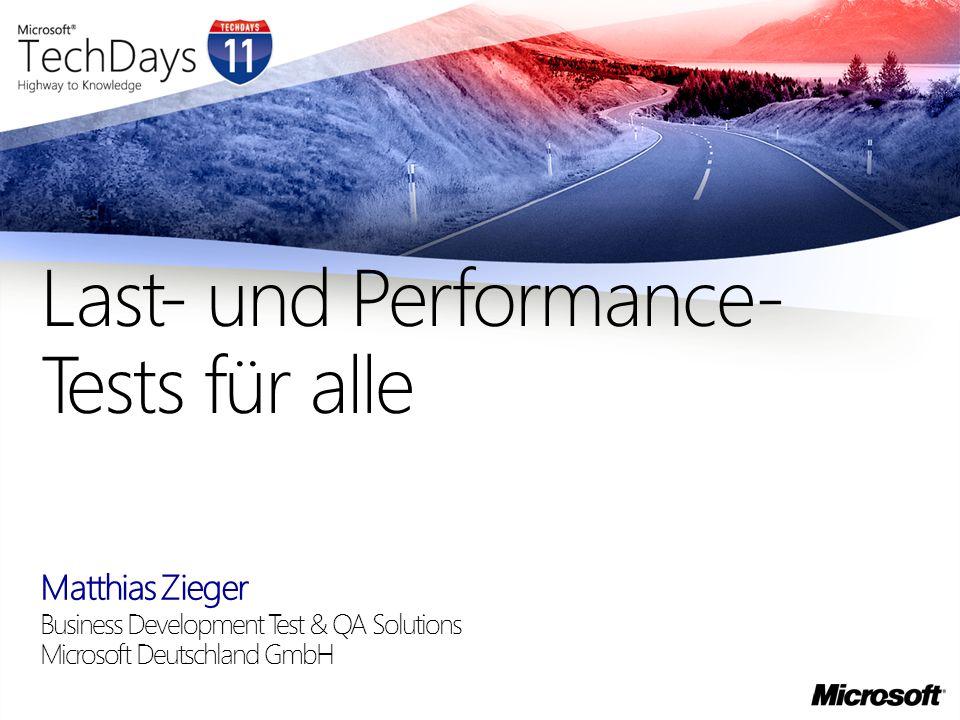 Last- und Performance-Tests für alle