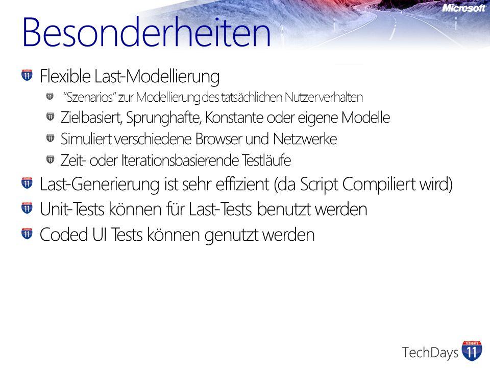Besonderheiten Flexible Last-Modellierung