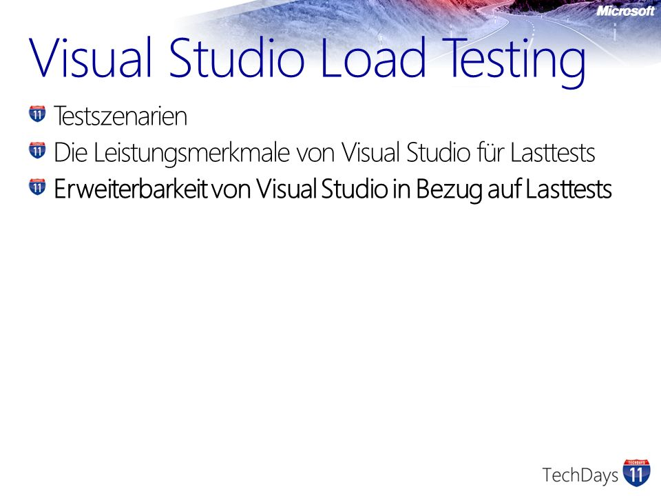 Visual Studio Load Testing